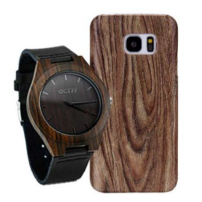 MATCH & GO COMBO - LUXURY WATCH & CELLPHONE CASE  Samsung Galaxy S6, S7 & S8 Series
